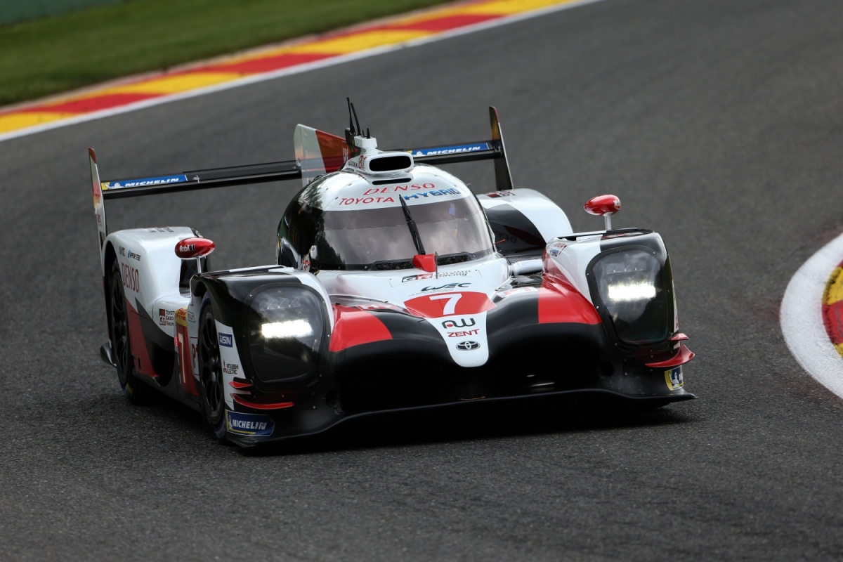 Toyota Gazoo Racing #7 z pierwszego pola do 6 Hours of Spa-Francorchamps
