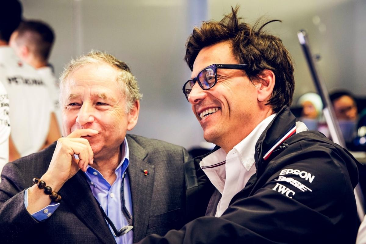 Jean Todt i Toto Wolff / © Mercedes AMG Petronas Motorsport