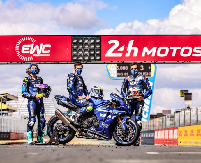 YART na pole position do 24 Heures Motos. Wójcik Racing Team na 9. miejscu