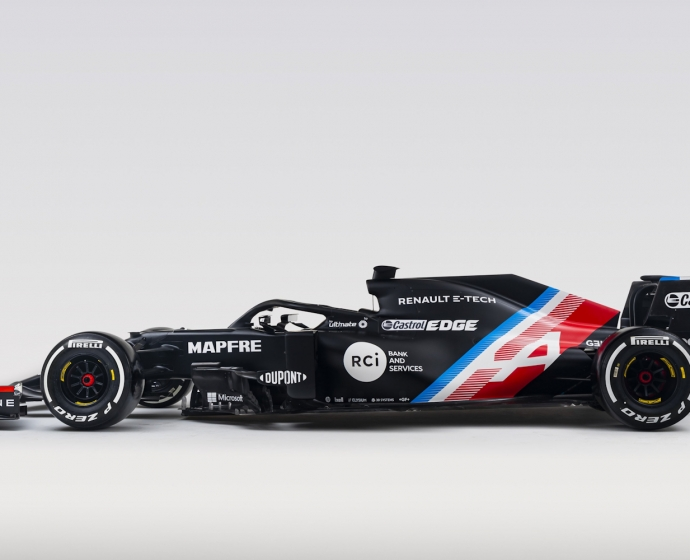 Bolid na sezon 2021 - Alpine F1 Team / © Alpine F1 Team