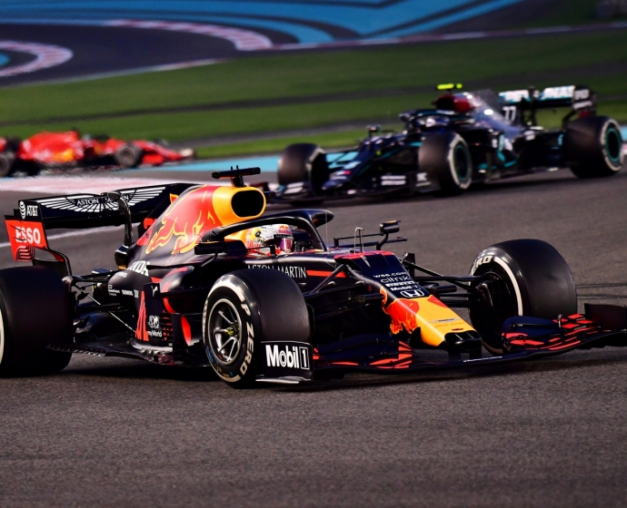 Max Verstappen i Valtteri Bottas / © Getty Images / Red Bull Content Pool