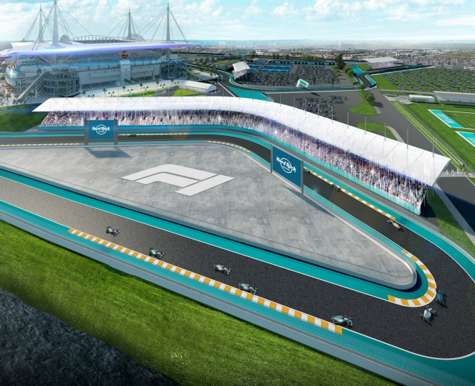 Hard Rock Stadium / © Miami Grand Prix